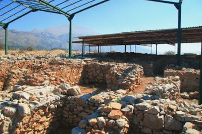 The Minoan palatial centre at Monastiraki, Amari, Crete