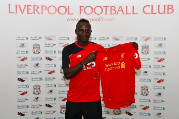 Sadio Mane has joined Liverpool from Southampton on a long-term deal.