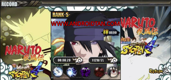 Ninja Storm 4 Senki Mod Apk by Cavin Nugroho Full Terbaru
