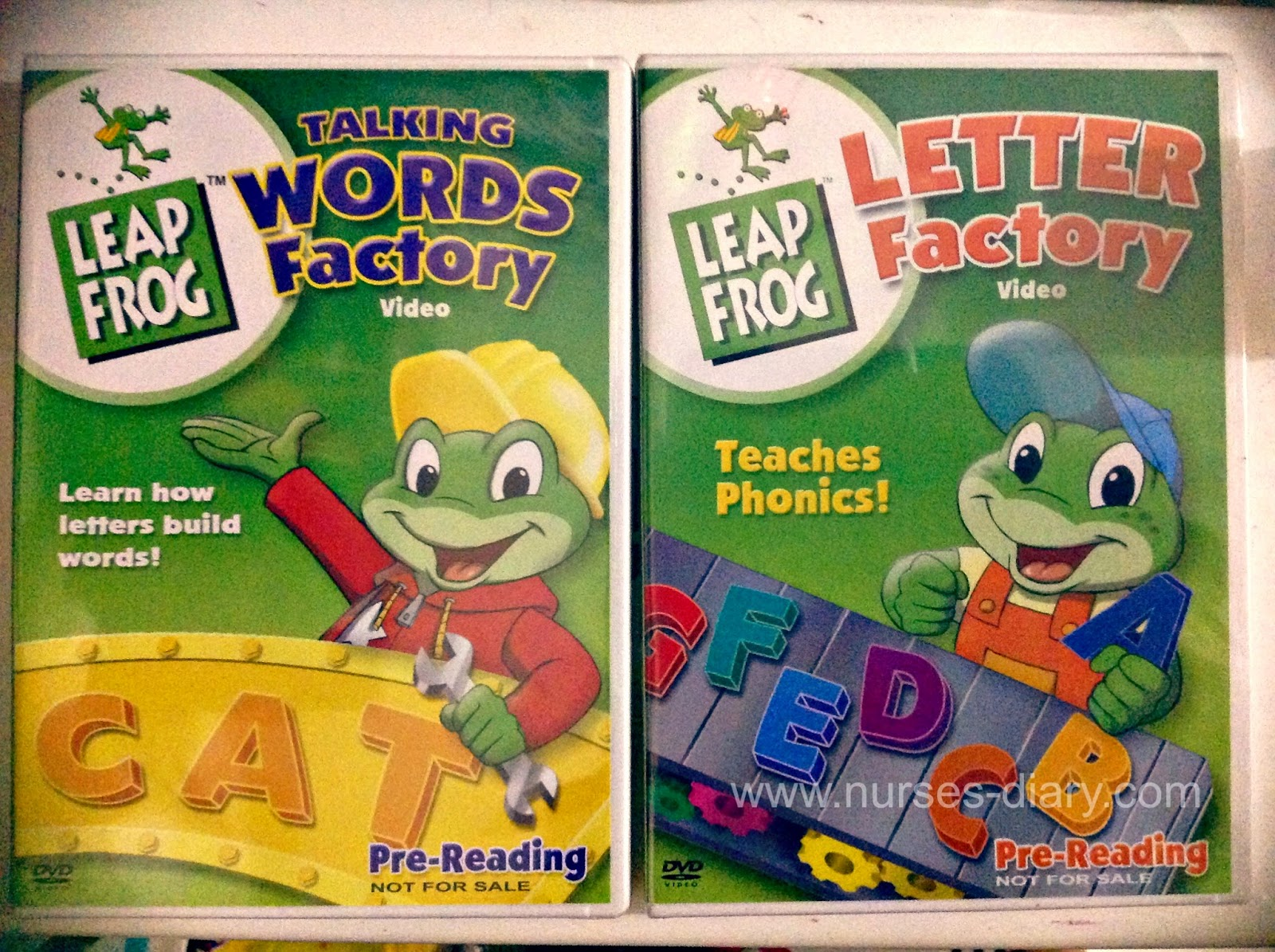 LeapFrog Learning Factory DVD Review