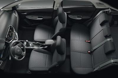 Interior Suzuki Baleno Hatchback