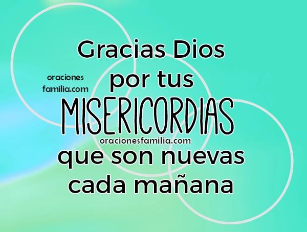 Oración de acción de gracias por este día, imágenes con bonita oración de la mañana, frases cristianas con oraciones por Mery Bracho