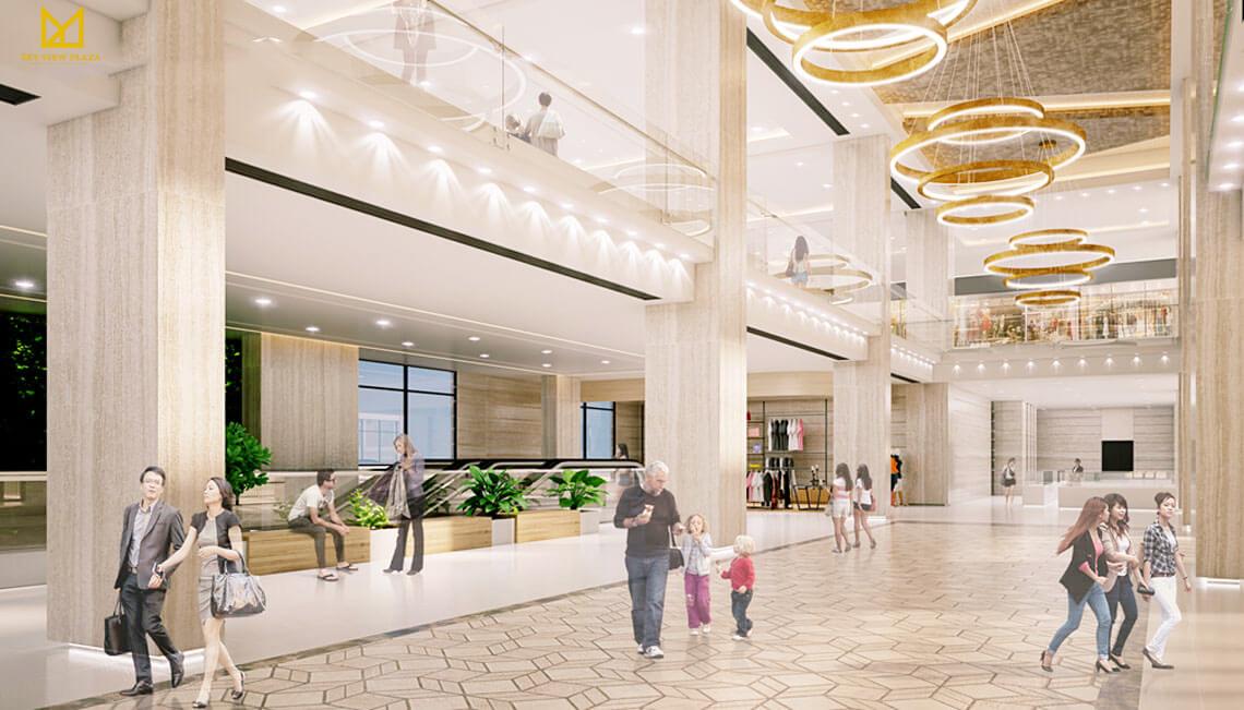 Trung tâm thương mại cao cấp của Sky View Plaza