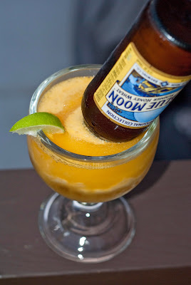 The BEST mango and beer margarita you'll ever have!