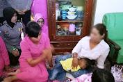 Ketua Bhayangkari Selayar Kunjungi Bocah Korban Pencabulan