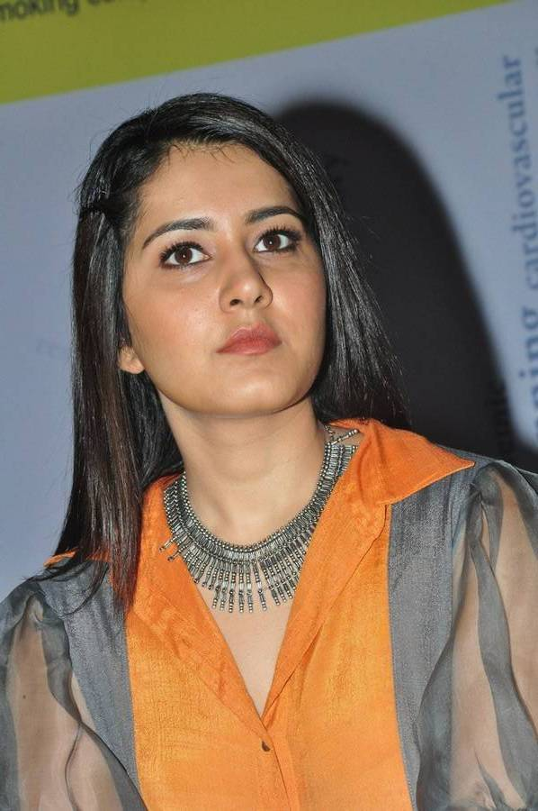 Raashi Khanna Stylish Photos In Yellow Top