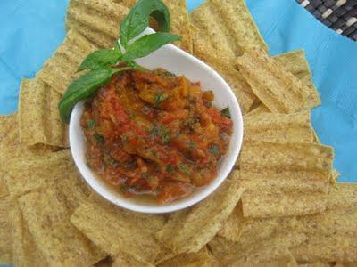 Gluten Free A-Z Blog - sun dried tomato salsa