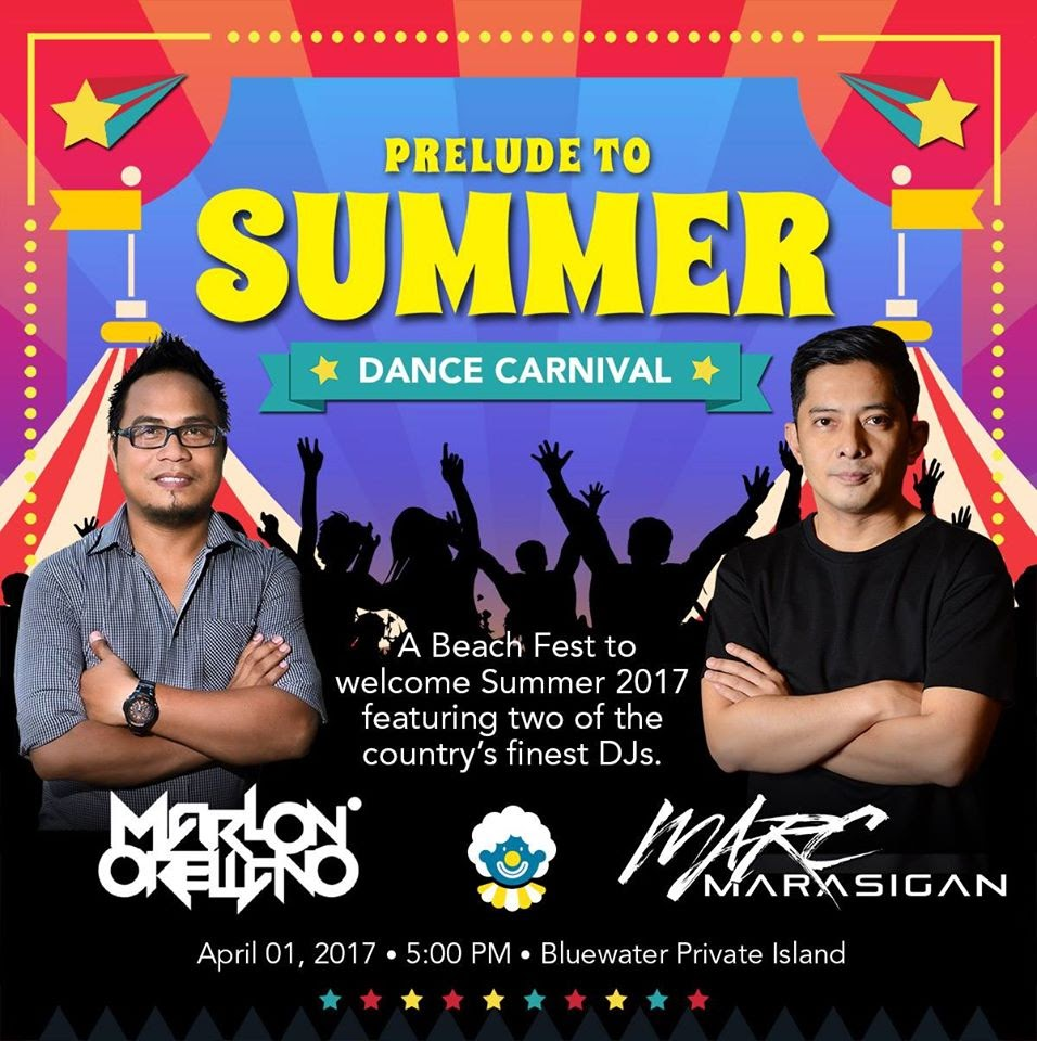 Prelude to Summer Dance Carnival, Cebu Foam Party, Bluewater Maribago Beach Resort, Bluewater Private Island, Cebu Fashion Blogger, Cebu Blog Giveaways, Summer Party 2017