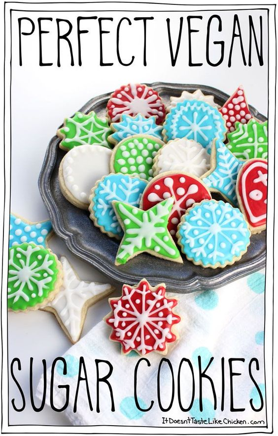 PERFECT VEGAN SUGAR COOKIES