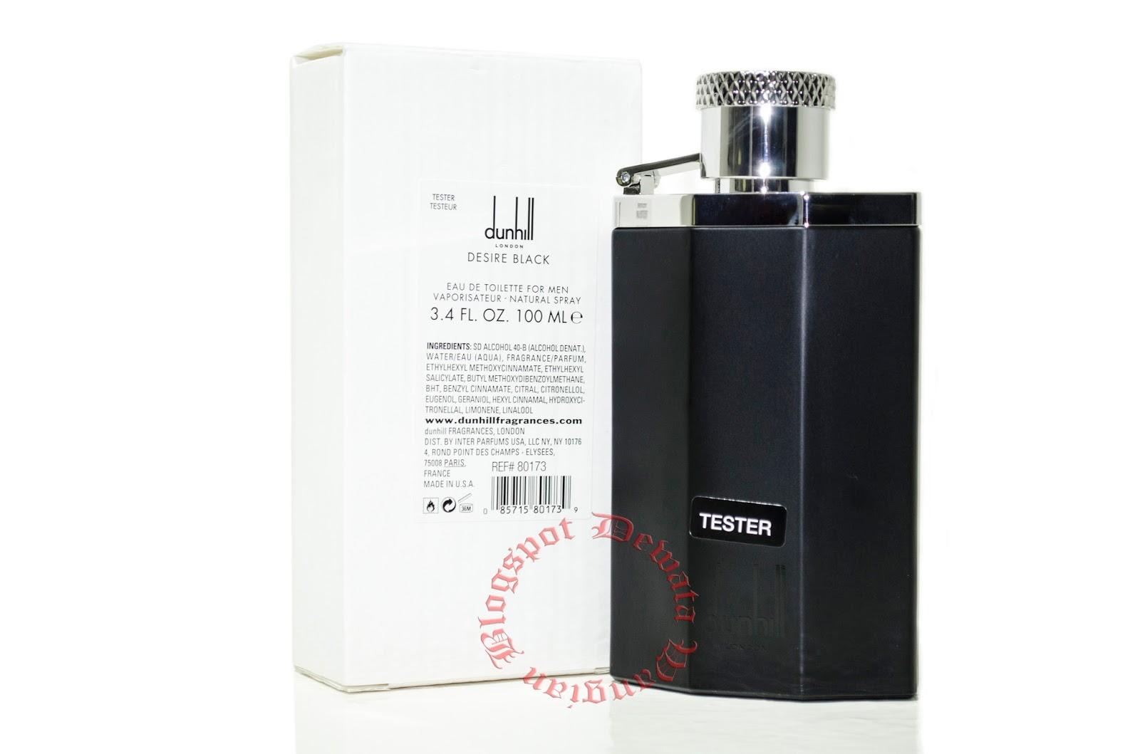 Wangian,Perfume & Cosmetic Original Terbaik: Dunhill Desire Black