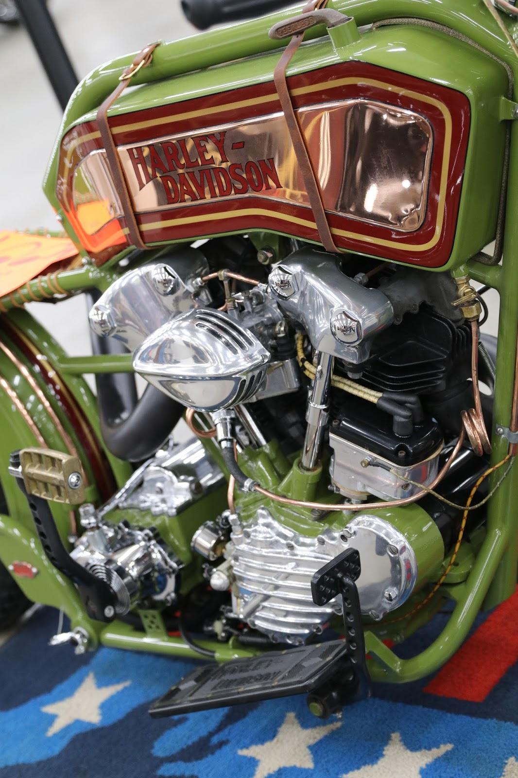 """OldMotoDude: Harley-Davidson Knucklehead """"Hank Young ..."""