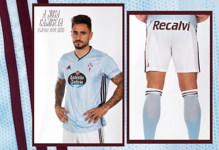 Celta Vigo 19-20 Home & Away Kits Released