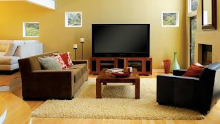 bentuk ruang tamu minimalis sederhana