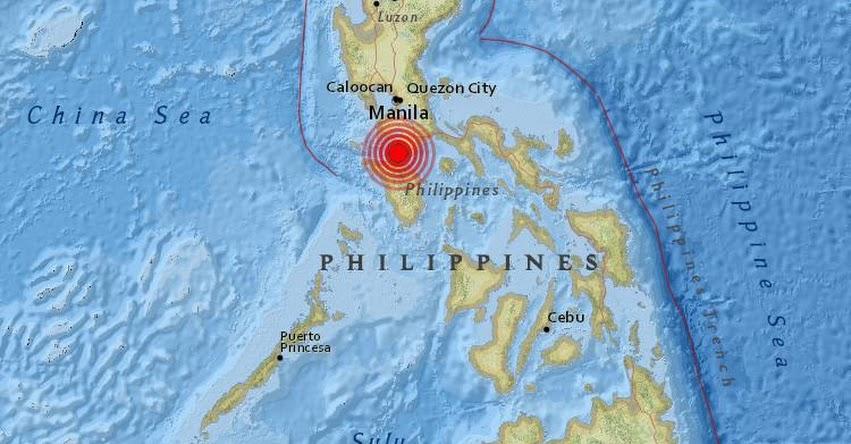 TERREMOTO EN FILIPINAS de 5.2 Grados (Hoy Martes 4 Abril 2017) Sismo Temblor EPICENTRO Luzón - Makati (Gran Manila) Obando (Bulacan) - USGS