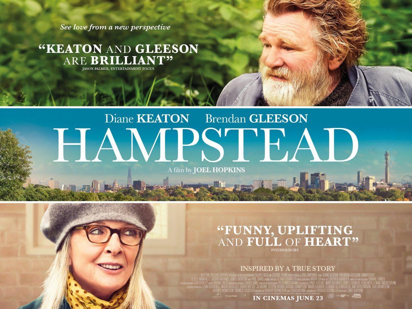 Una cita en el parque (Hampstead) Poster