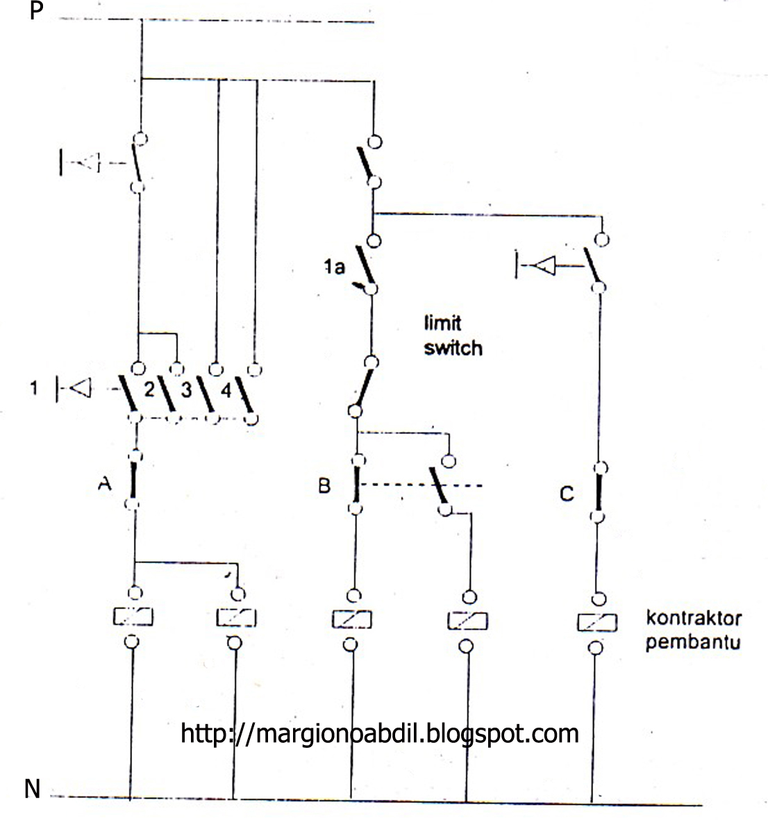Wiring Diagram Motor 1 Fasa Schematic Diagram Today