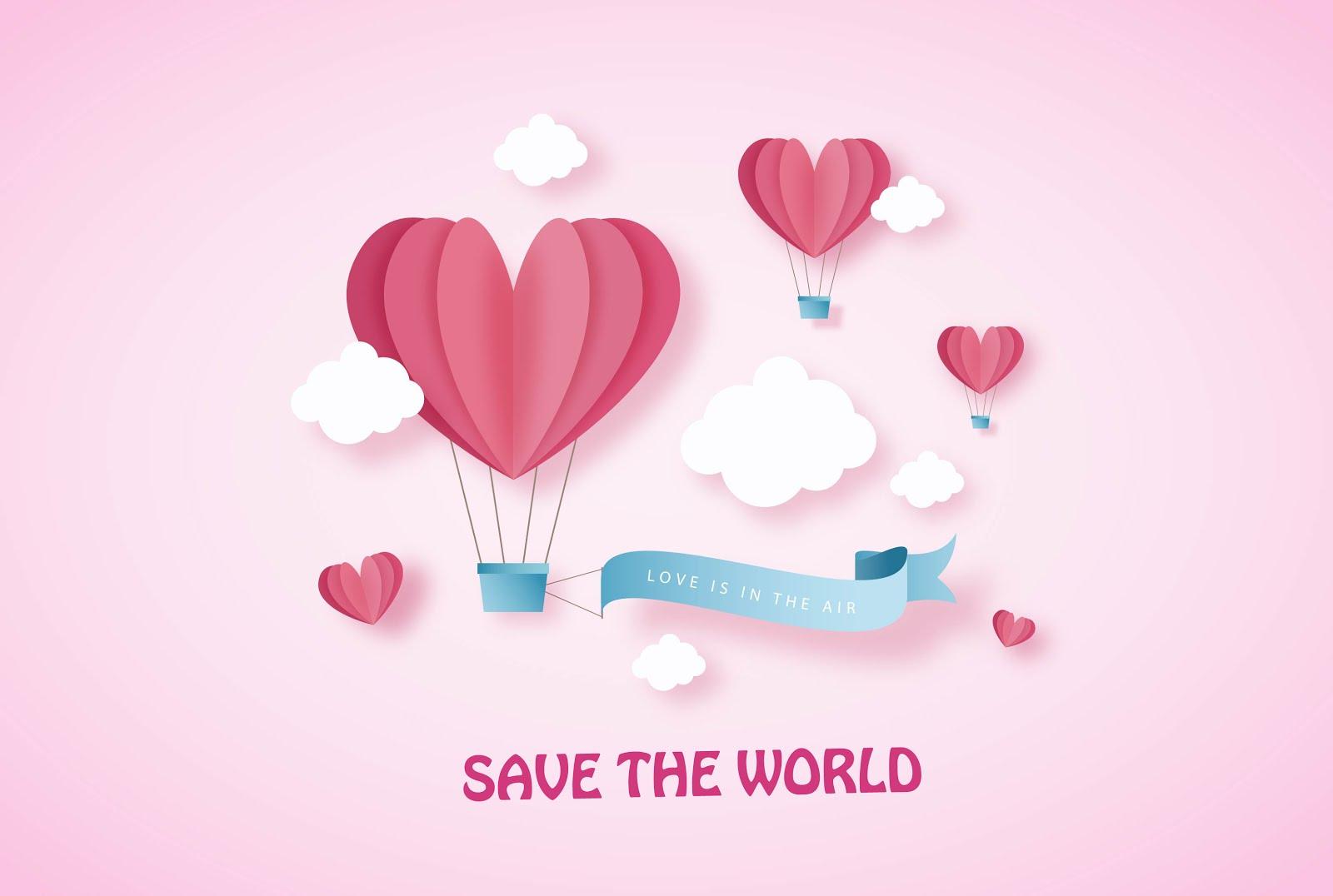 Спасти мир ко дню Святого Валентина!     7 Эко-советов!
