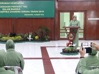 Dihadiri Ketua PD Persit Kodam IV, Anggota Persit Korem 072 Terima Penyuluhan Kesehatan
