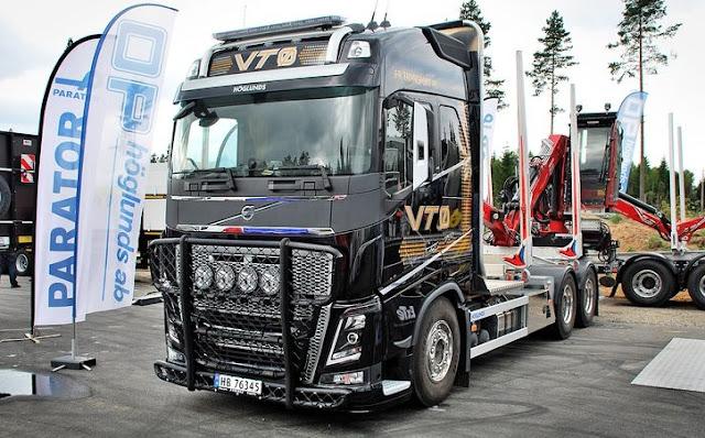modifikasi truck volvo spesial