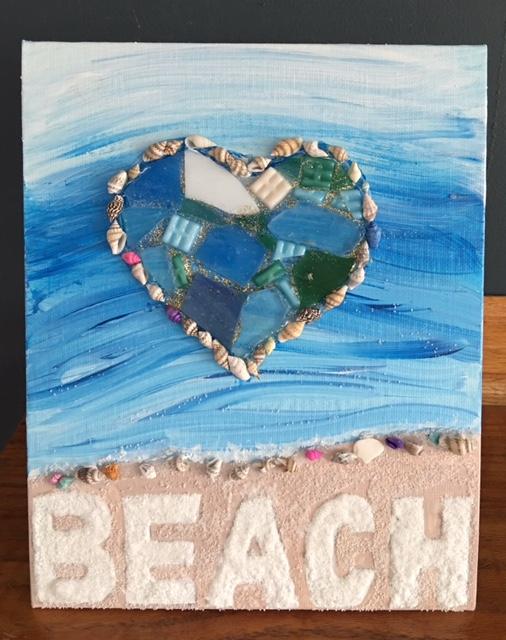 library arts beach love