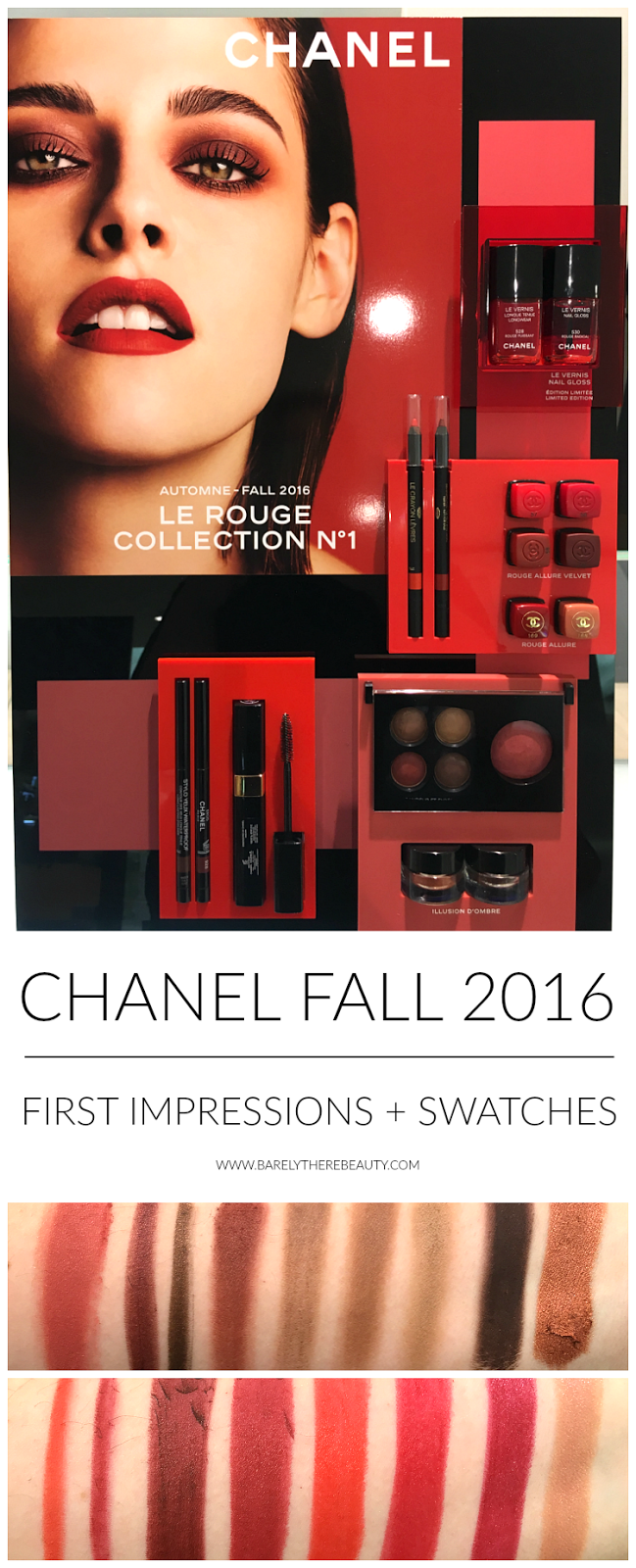 chanel-fall-2016-makeup-rouge-collection-swatches-review-fotd