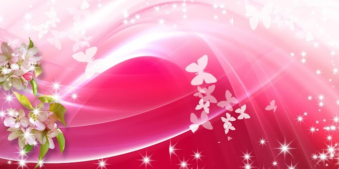 Baground Spanduk Laundry Bernuansa Warna Pink Dengan Ukuran 2 x 1 Meter