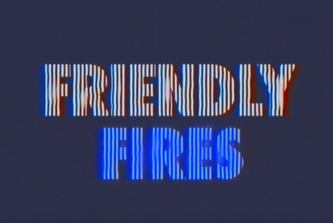 Friendly Fires - Love like waves | Random J Pop