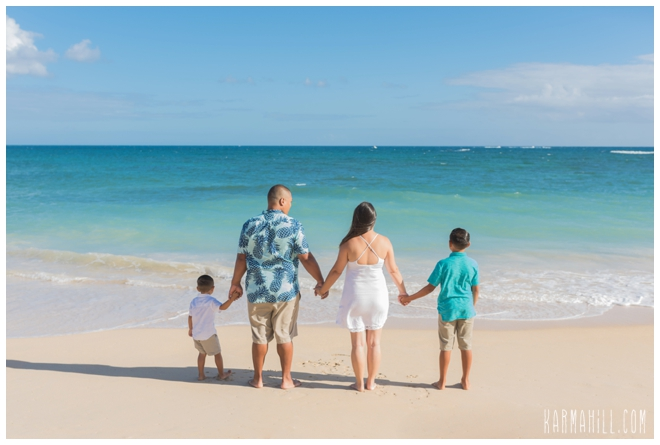 Maui Family Beach Portrait