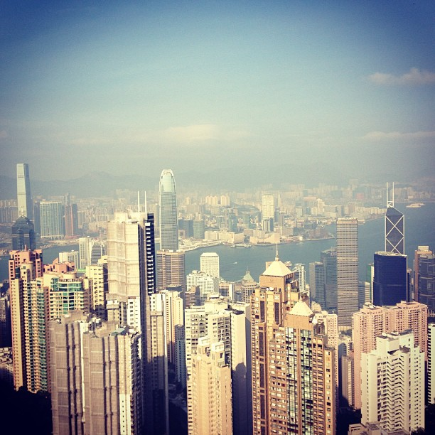 View from Victoria Peak, Hongkong