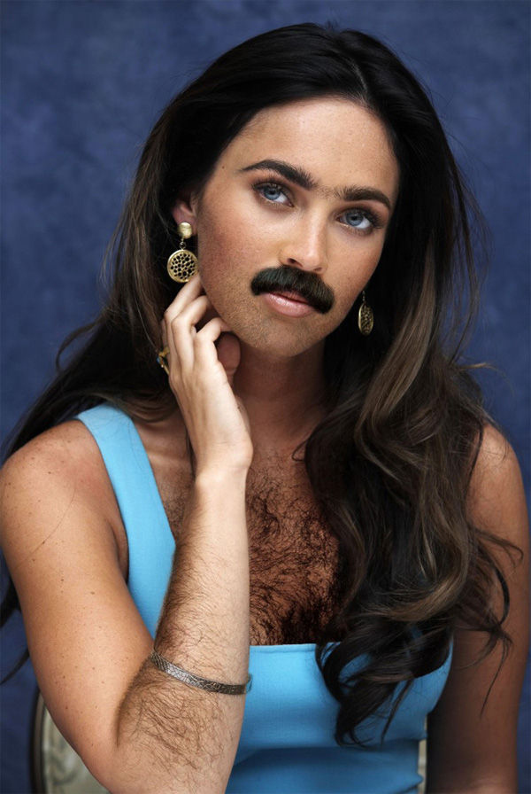 Female Celebrities With Beards and Chest Hair ~ Damn Cool ...