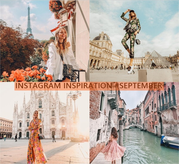 INSTAGRAM INSPIRATION #SEPTEMBER  Falling for A
