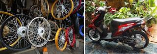 Lingkar sepedamotor