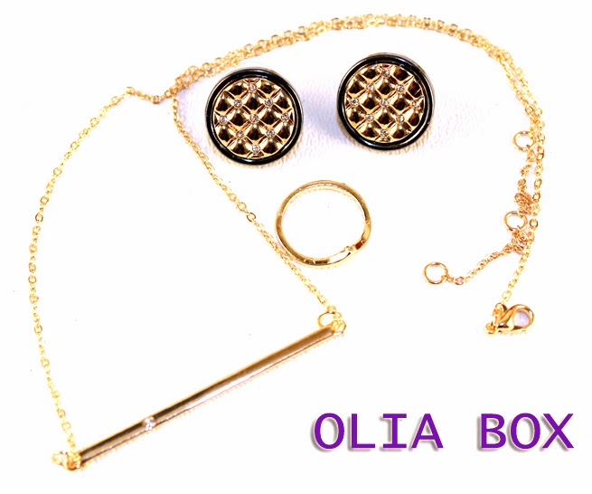 Olia Box  Monthly Jewelry Subscription Service