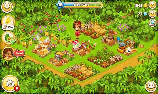 تحميل لعبة Farm Paradise: Fun Island game for girls and kids مهكرة للاندوريد