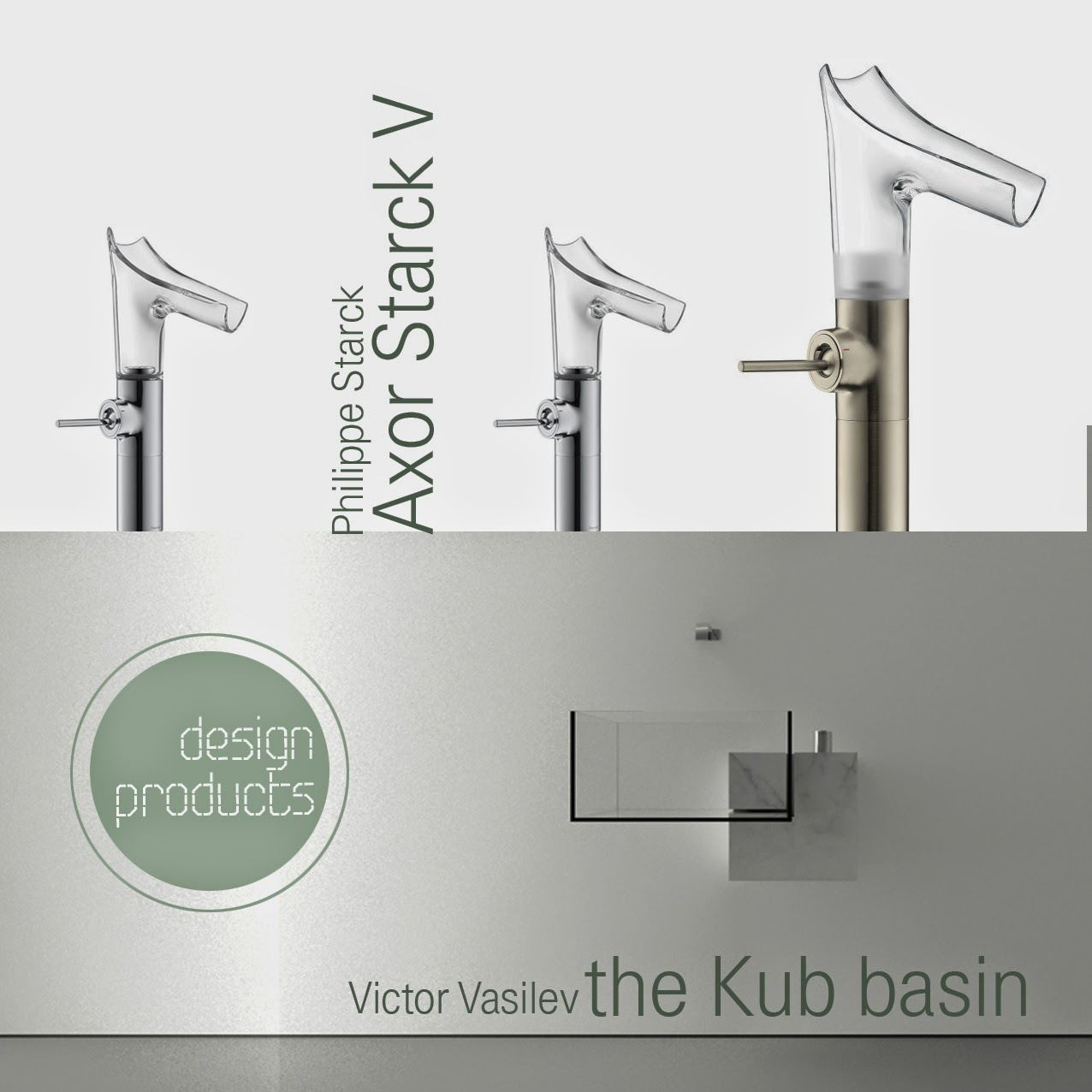 Axor Starck V Washbasin Mixer Products Axor Starck V The Kub The Round Button