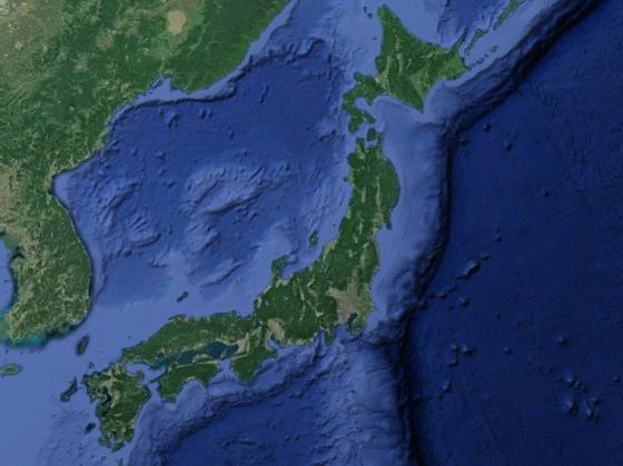 Cartina Geografica Giappone