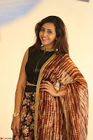 Lasya looks super cute in black choli Saree at Raja Meru Keka Press Meet ~  Exclusive 101.JPG