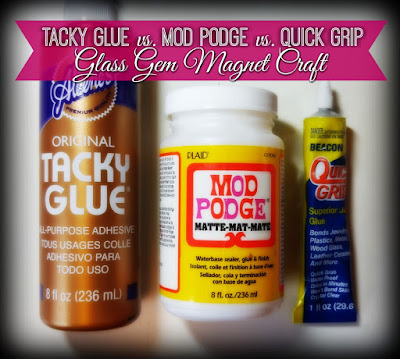 Tacky Glue vs. Mod Podge vs. Beacon Quick Grip Glue Review  by The Funky Felter