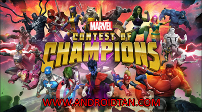MARVEL Contest of Champions Mod Apk + Data 1 Hit Kill v14.1.1 Terbaru