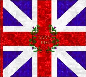 35th Regiment of Foot (Charles Otway)  Kings Colour