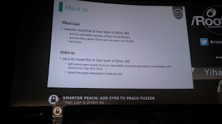 RootedCon 2017 - Yihan Lian y Zhibin Hu - Smarter Peach: Add eyes to peach fuzzer