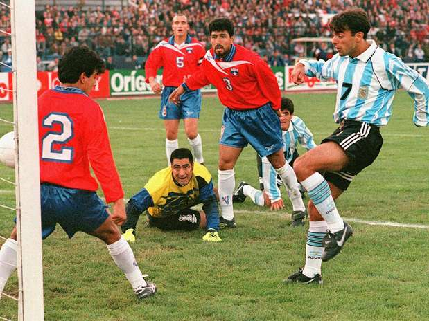Chile y Argentina en Clasificatorias a Francia 1998, 10 de septiembre de 1997