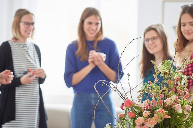 Blumen Workshop Koeln GOLDREGEN Nina Jules kleines Freudenhaus