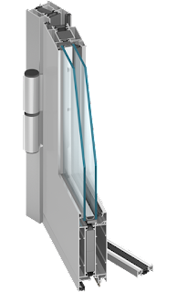 aluminium ajtó