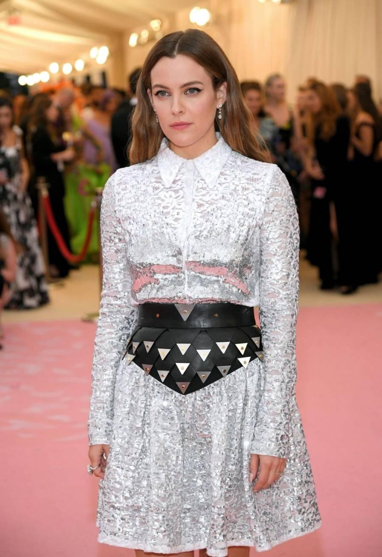 American Model Riley Keough At Met Gala in New York