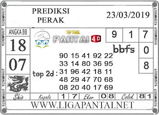 """Prediksi Togel """"PERAK"""" PANTAI4D 23 MARET 2019"""