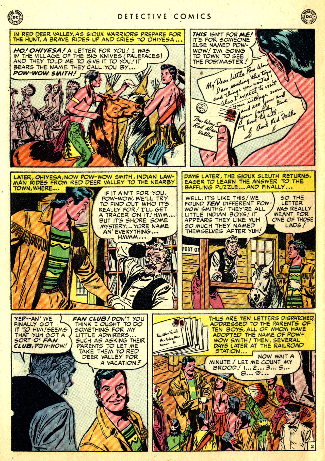 Read online Detective Comics (1937) comic -  Issue #168 - 42