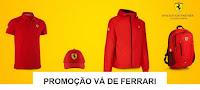Promoção Vá de Ferrari Shell shell.com.br/vadeferrari