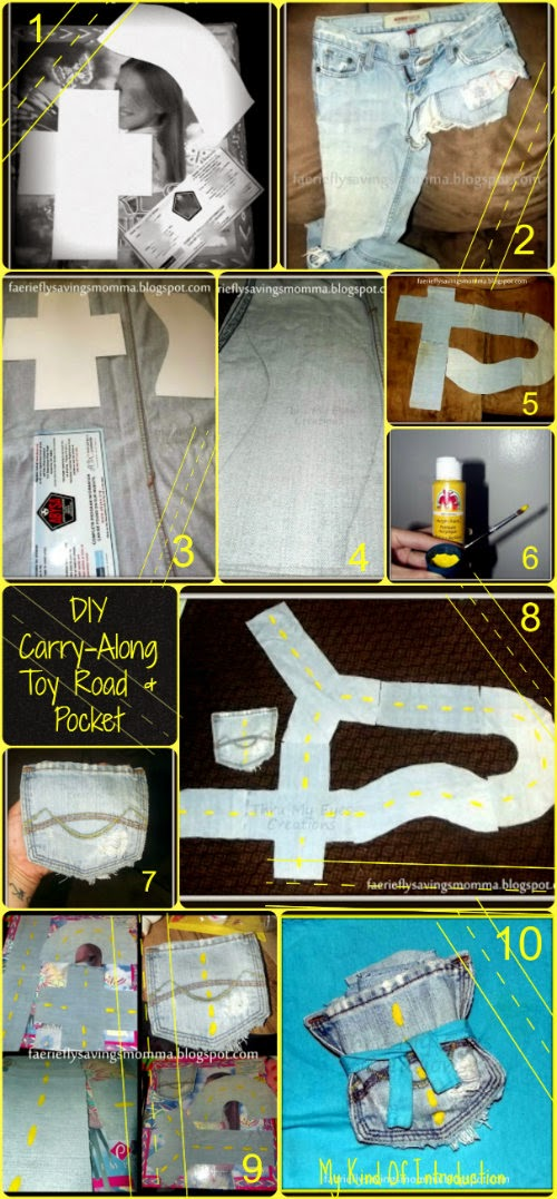 DIY Carry-Along Toy Road in a Pocket