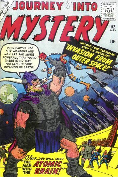 Journey Into Mystery Kirby